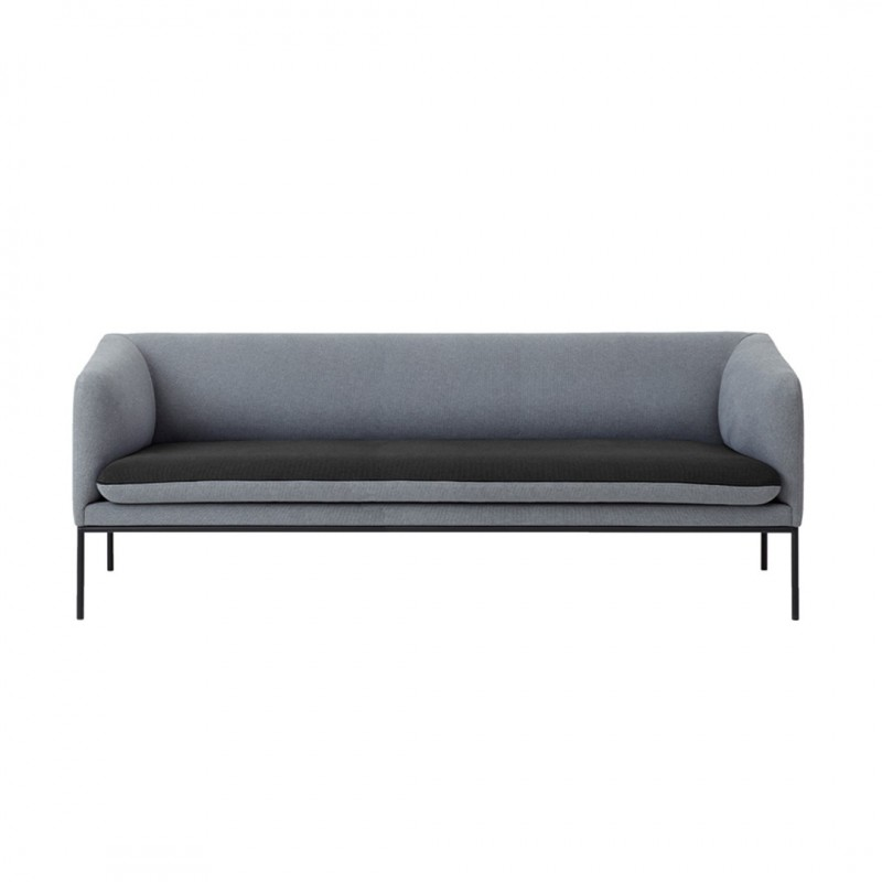 Sofa Turn 3 Lana Gris Oscuro Ferm Living