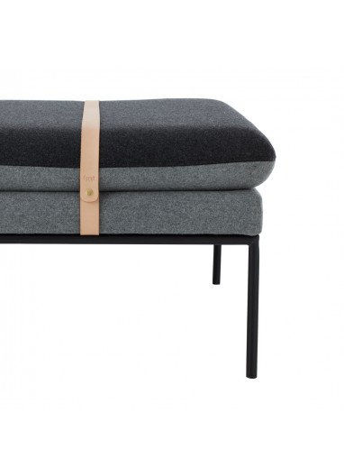Sofa Turn Daybed Lana Gris Oscuro Ferm Living