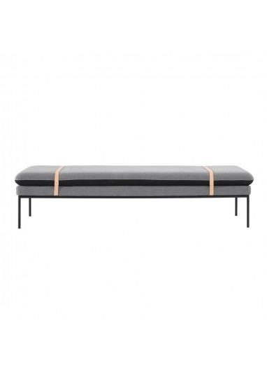 Sofa Turn Daybed Algodon Gris Oscuro Ferm Living