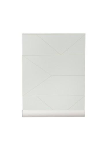 Papel Pintado Lines Blanco Ferm Living