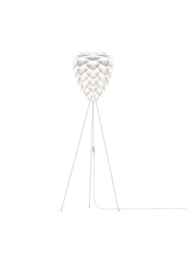Lámpara Conia blanca de suelo