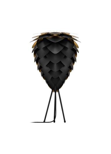 Lámpara Conia Negra de mesa