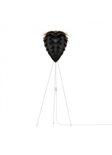 Lámpara Conia Negra de suelo