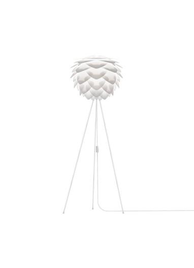 Lámpara Silvia blanca de suelo
