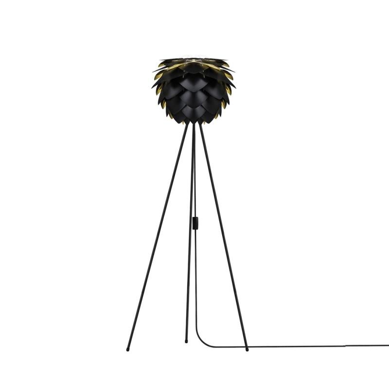 L mpara silvia negra de suelo para decorar hogares - Lamparas de suelo ...