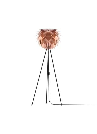 Lámpara Silvia Cobre de suelo
