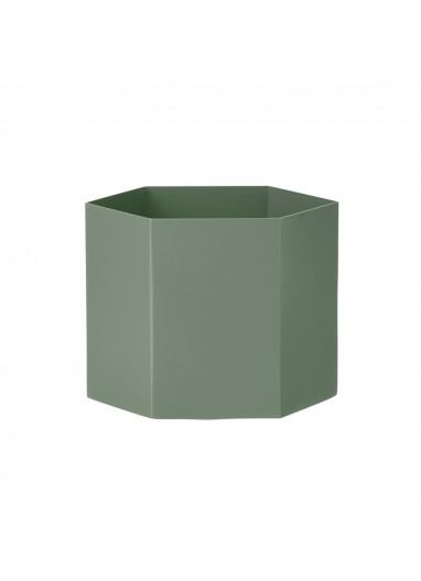 Maceta XL Verde Ferm Living