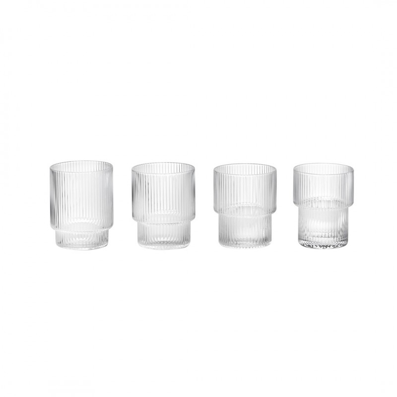 Set de Vasos de Cristal de Ferm Living
