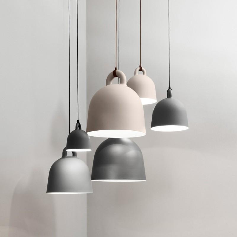 Lampara Bell Blanca Normann Copenhagen