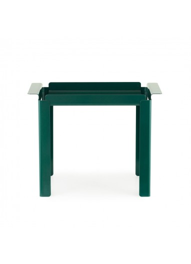 Mesa Auxiliar Box L Verde Azulado Normann Copenhagen