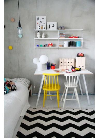 Shelf white 58x30cm estantería String