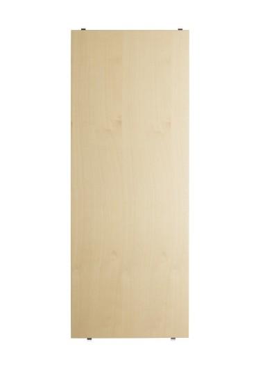 Shelf ash 78x30cm estantería String