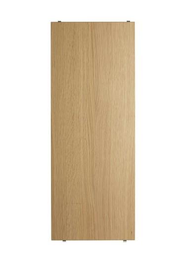 Shelf oak 78x30cm estantería String Roble