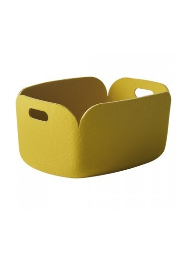 Cesta Restore yellow de Muuto