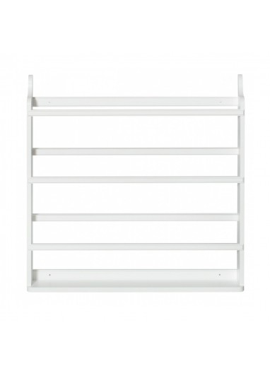Estanteria Rack Blanco Oliver Furniture