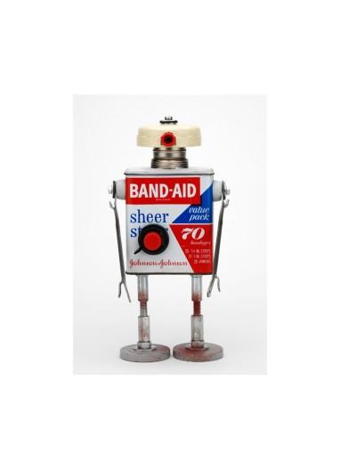 Lámina Robot Band-Aid de Pitarque Robots