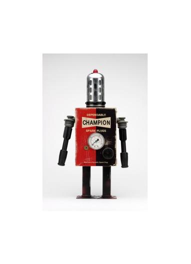 Lámina Robot Champion de Pitarque Robots