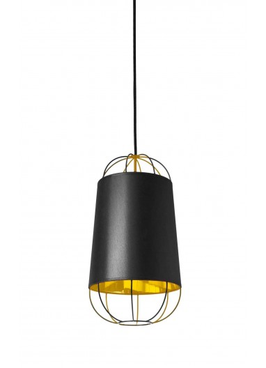 Lámpara Lanterna black/gold S Petite Friture