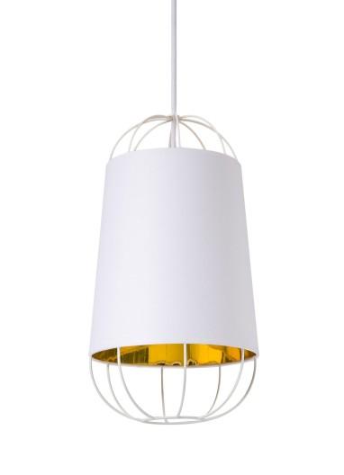 Lámpara Lanterna white/gold S Petite Friture