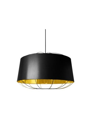 Lámpara Lanterna black/gold L Petite Friture