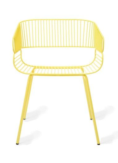 Silla Trame yellow Petite Friture