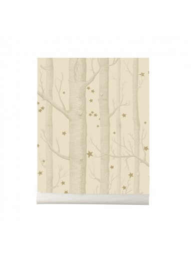 Papel pintado Wood and Stars light cream Cole and Son