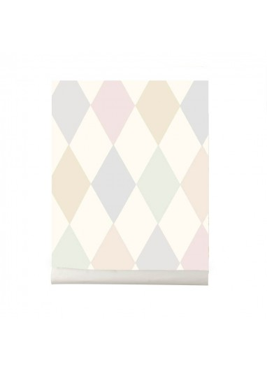 Papel pintado Punchinello pastel Cole and Son