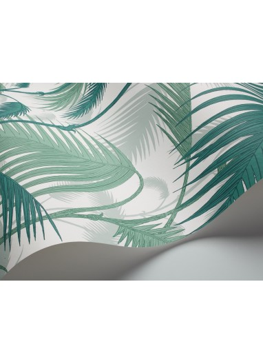 Papel pintado Palms Jungle dark green Cole and Son