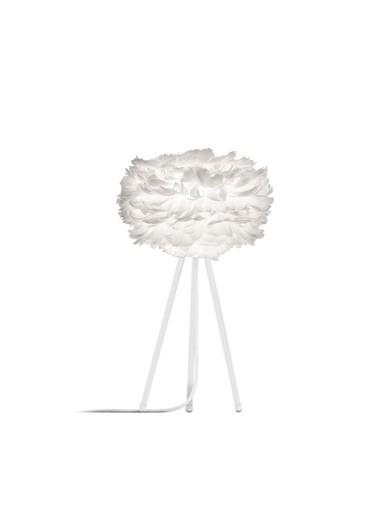 Lámpara plumas de mesa