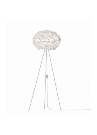 Lámpara plumas de suelo