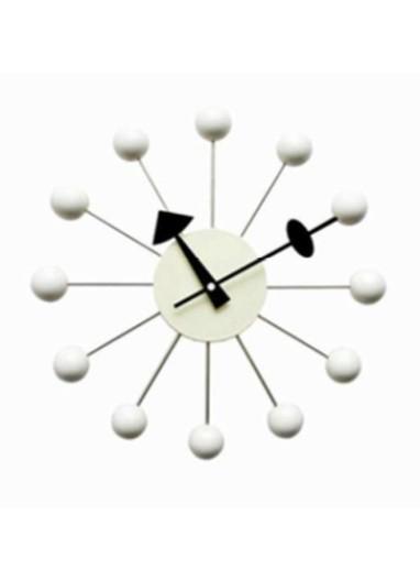 Reloj de pared Bubbles White Design Show