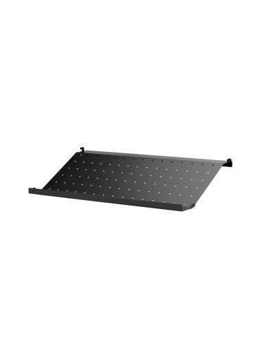 Metal Shelf Shoe Black 58x30 String