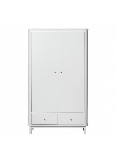 Armario 3P blanco Seaside OLIVER FURNITURE