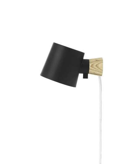 Lámpara de parec Rise Negro Normann Copenhagen