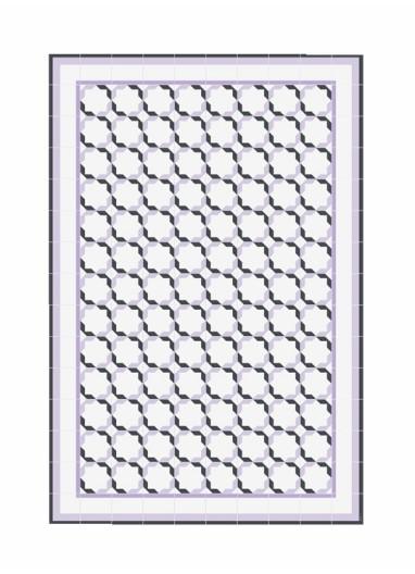 Alfombra Diagonal Hidraulik