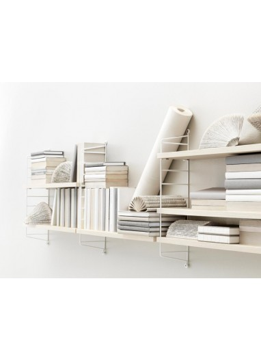 Pack 2U Wall panel white 75x20cm String System