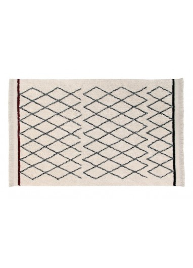 Washable Rug Bereber crisscross Lorena Canals