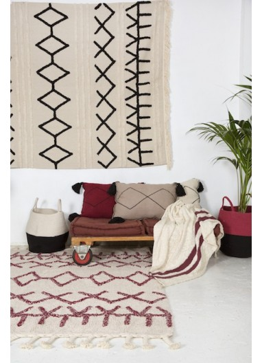 Washable Rug Bereber canvas Lorena Canals