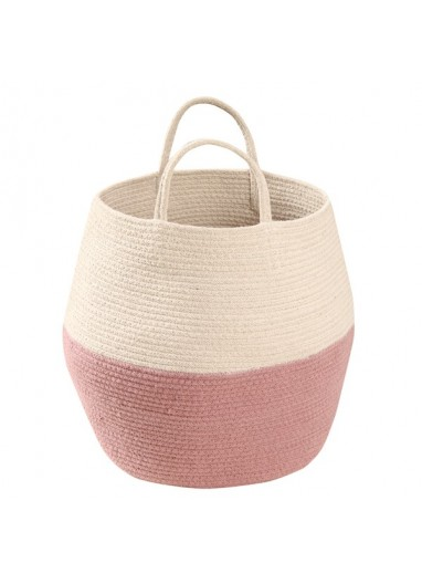Basket Zoco Natural Ash Rose Lorena Canals