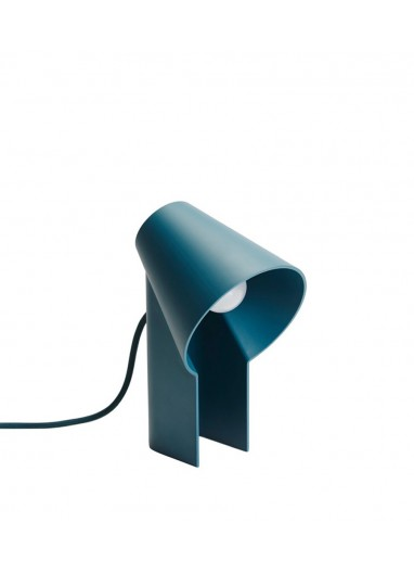 Lámpara de mesa Petrol blue Study Woud