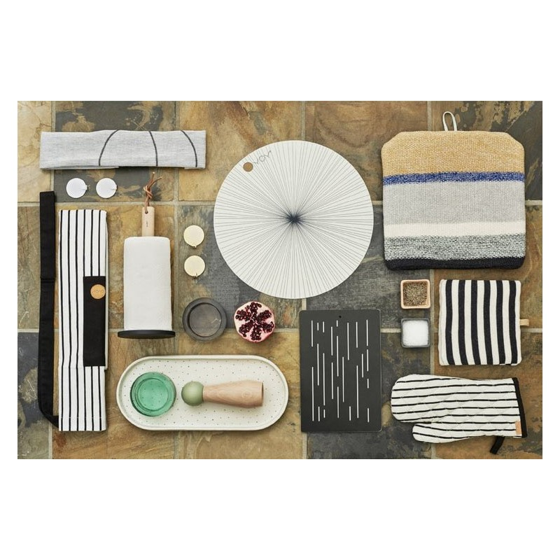 Place mat off white OYOY
