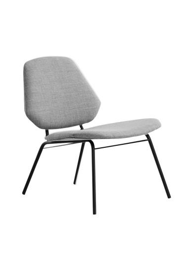 Lean Lounge Chair Grey WOUD