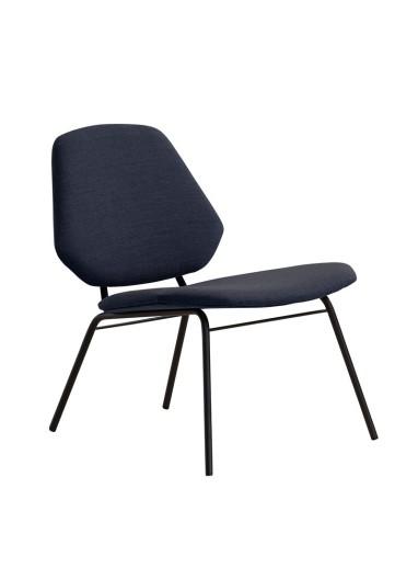 Lean Lounge Chair Dark blue WOUD