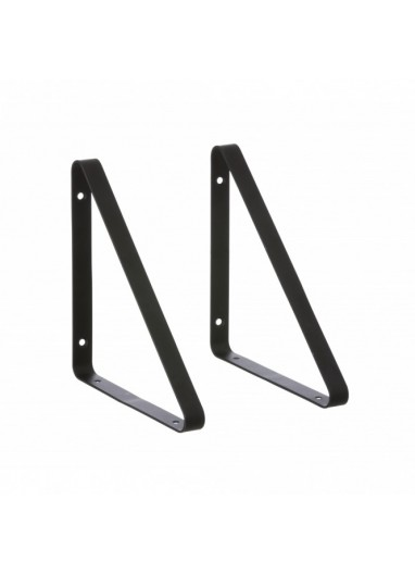 Shelf Hangers Black FERM LIVING