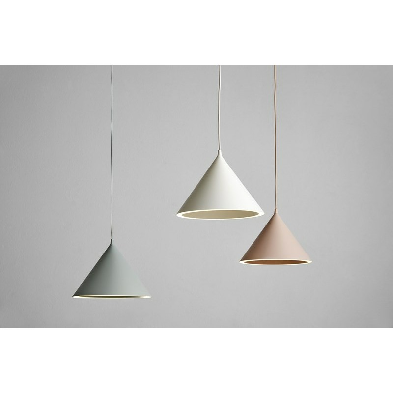 Annular pendant light mint S WOUD