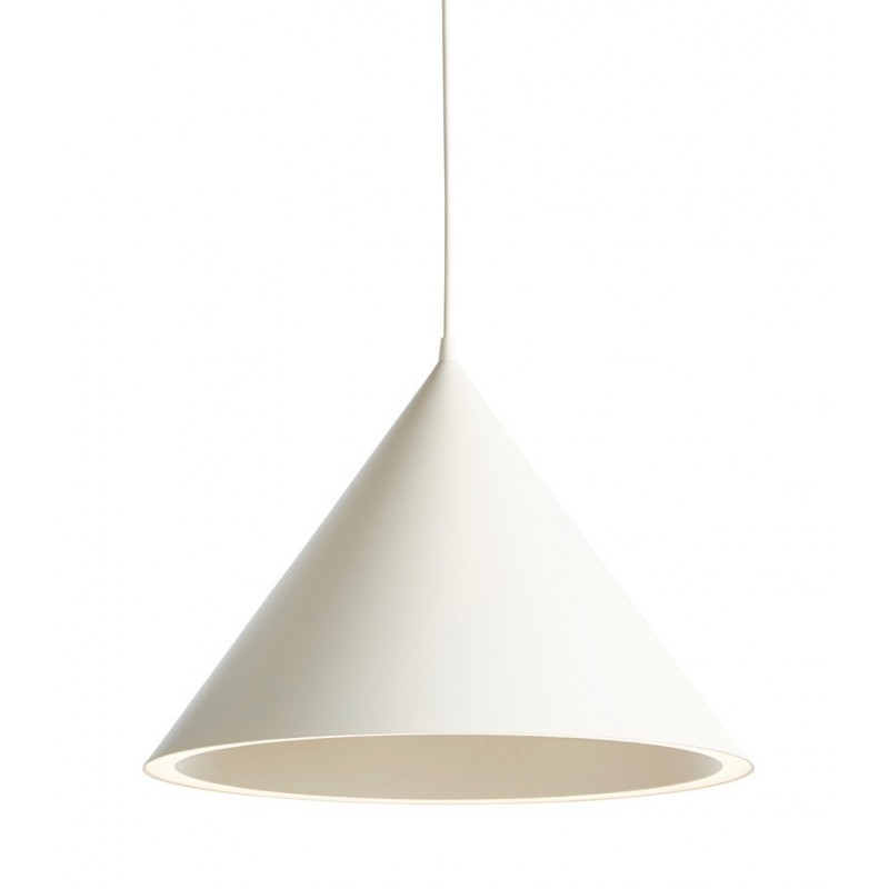 Annular pendant light white L WOUD