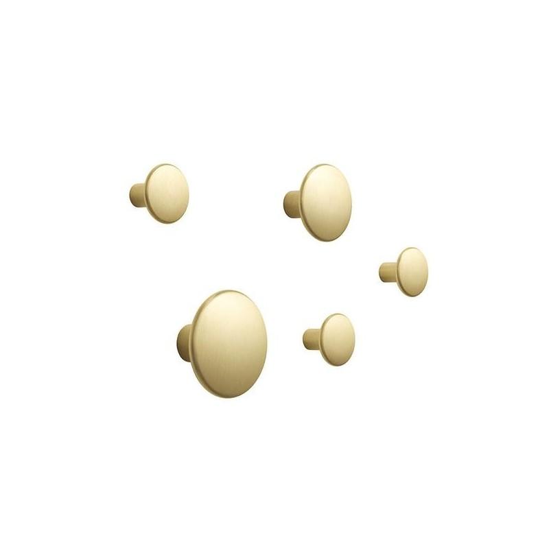 Colgadores Dots oak de Muuto