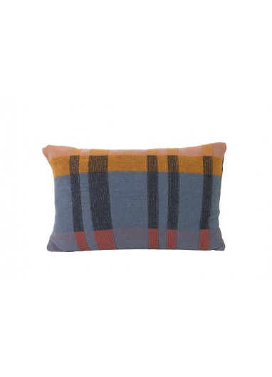 Cojin Medley knit dark blue large Ferm Living