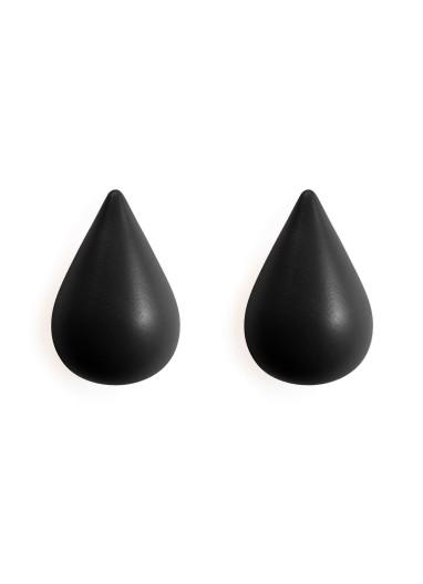 Dropit coat hangers Black Normann Copenhagen