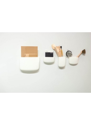 Pocket Organizer Size 2 White Normann Copenhagen